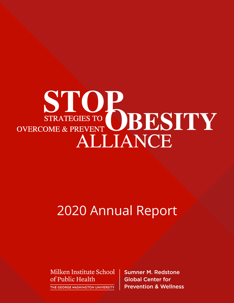 STOP Annual Report 2020 cover